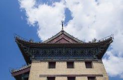 Muur van het stadscentrum, Xi, China Stock Fotografie