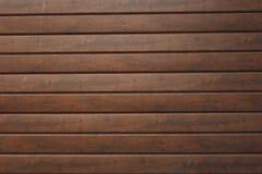 Muur van houten planken wordt gemaakt die Houten muurtextuur stock foto