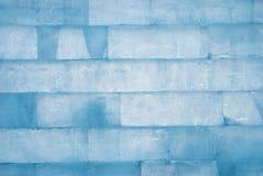 Muur van ijs royalty-vrije stock foto's