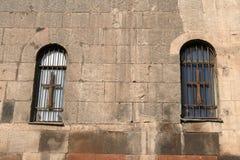 Muur van kerk Stock Foto