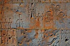 Muur van klooster Stock Foto's