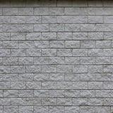 Muur van lichte die textuurtegels, in verschijning als baksteen wordt gestileerd Één van de soorten muurdecoratio stock foto