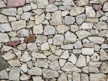 Muur van marmeren steenachtergrond Stock Foto