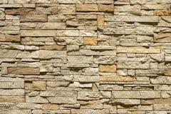 Muur van natuurlijke steen Stock Foto's