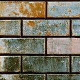 Muur van oude bakstenen Stock Foto