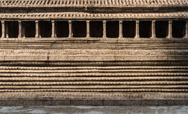 Muur van oude pagode Stock Foto's