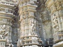 Muur van oude tempel Royalty-vrije Stock Afbeelding