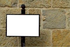 Muur van reclame royalty-vrije stock foto