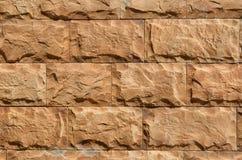 Muur van rode baksteen Royalty-vrije Stock Afbeelding