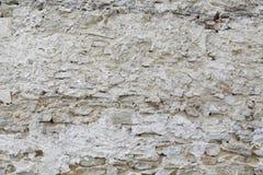 Muur van rotsen Stock Foto