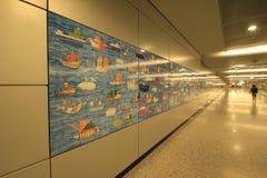 Muur van schip Royalty-vrije Stock Fotografie