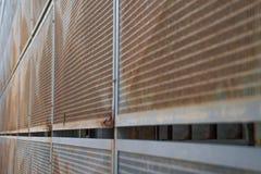 Muur van staal Stock Fotografie