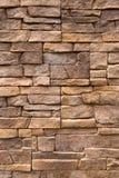 Muur van steen. Stock Afbeelding