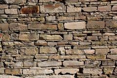 Muur van stenen Stock Foto's