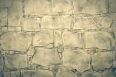Muur van stenen Royalty-vrije Stock Foto's