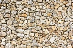 Muur van stenen als textuur stock afbeeldingen