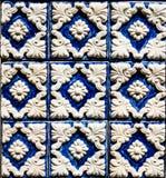 Muur van tegels Royalty-vrije Stock Afbeeldingen