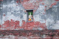 Muur van tempel Stock Fotografie