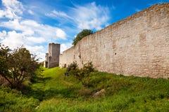 Muur van Visby Royalty-vrije Stock Fotografie