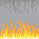 Muur van vlammen Royalty-vrije Stock Fotografie