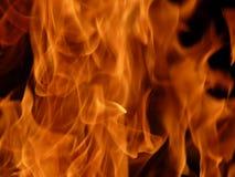 Muur van vlammen Royalty-vrije Stock Foto