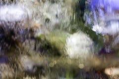 Muur van water Stock Afbeelding