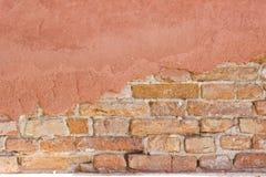 Muur in Venetië Royalty-vrije Stock Foto's