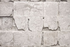 Muur zonder tegels Stock Fotografie