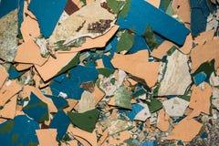 Muurachtergrond of textuur Stock Fotografie
