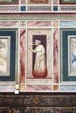 Muurdecor in Scrovegni-Kapel in Padua Royalty-vrije Stock Foto's