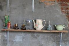 Muurdecoratie binnenland huis moderne ruimte keuken versie