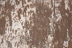 Muurfragment met attritions en barsten royalty-vrije stock fotografie