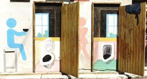 Muurkunst het schilderen Royalty-vrije Stock Fotografie