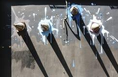 Muurkunst het schilderen Stock Foto