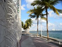 Muurkunst in Miami Stock Foto