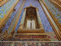 Muurkunst in Wat Phra Kaew Royalty-vrije Stock Foto's