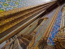 Muurkunst in Wat Phra Kaew Royalty-vrije Stock Afbeelding