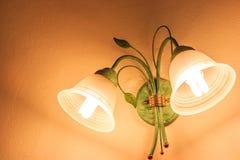 Muurlampen royalty-vrije stock foto