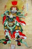 Muurschilderij Stock Foto