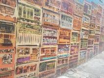 Muurschilderij Royalty-vrije Stock Foto