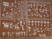 Muurschilderijen Stock Afbeelding