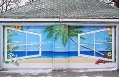 Muurschildering 1 Stock Afbeeldingen