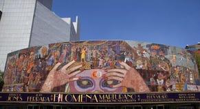 Muurschildering door Diego Rivera Stock Foto's