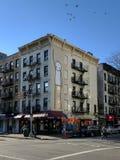 Muurschildering in East Village, New York Stock Foto's