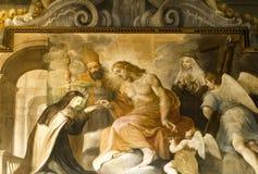 Muurschildering, Florence royalty-vrije stock afbeelding