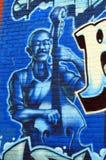 Muurschildering Halifax van de binnenstad Stock Foto's