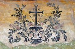 Muurschildering het schilderen royalty-vrije stock afbeeldingen