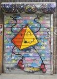 Muurschilderingkunst in Astoria-sectie van Queens Royalty-vrije Stock Foto
