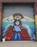 Muurschilderingkunst in Astoria-sectie van Queens Royalty-vrije Stock Afbeeldingen