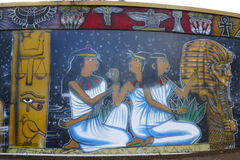 Muurschilderingkunst bij Balboapark in San Diego Stock Foto